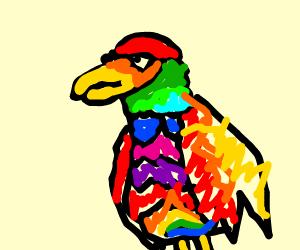 Old School Parrot