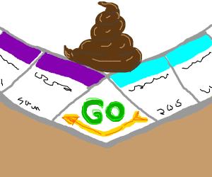 monopoly poop
