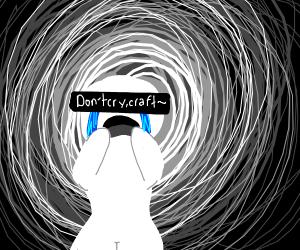 Censored crying