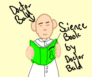 Scientist but his book is more accomplished