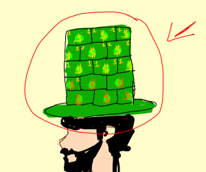 money hat