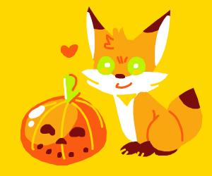Fixer took off his pumpkin