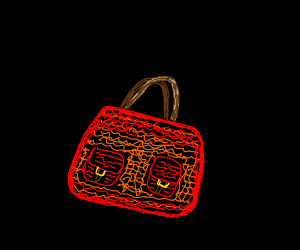 Intricate handbag