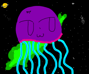 The great space jellyfish