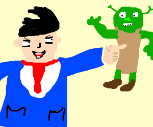 OBJECTION! Shrek has no rights!