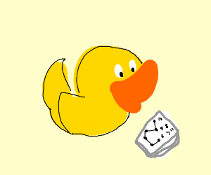 connect the dots duck