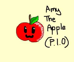 Amy the apple PIO