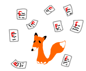 Nine failed Fox but with one tail