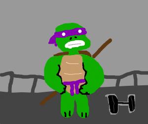 buff ninja turtle
