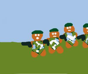 Team Gingerbread Army