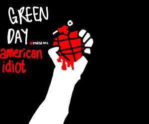 Green Day American idiot album cover