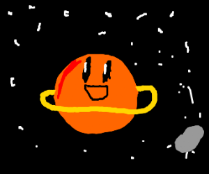 happy Saturn