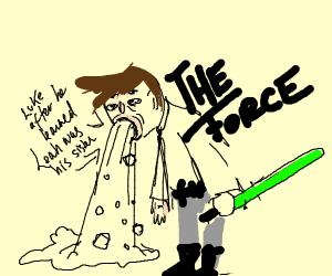 Jedi Puking