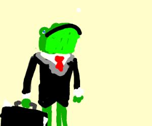 Frog lawyer