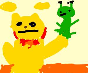 Winnie the Pooh on an Alien Planet