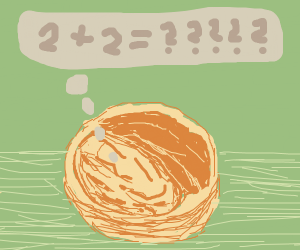 half eaten walnut asks what is 2 plus 2