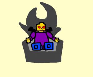 An evil lego man