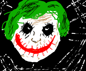 The creepiest version of joker u can think of