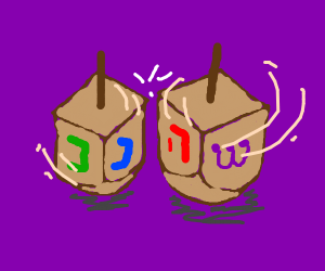Dreidel battle
