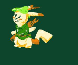 Robin Hood Pikachu