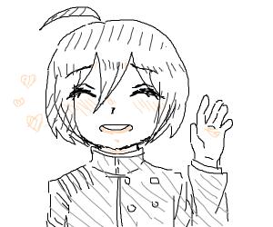 A very cute Shuichi Saihara