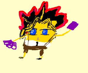 Spongebob's a weeb and he's proud