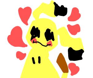 Mimikyu Loves You!