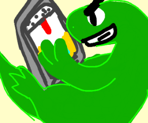 lizards plan their uprising using phone
