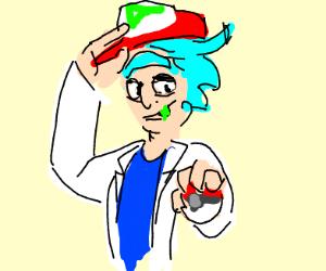Rick Sanchez: Pokémon Trainer