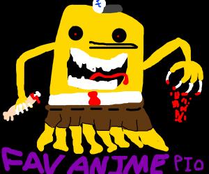 Favorite anime carecter PIO