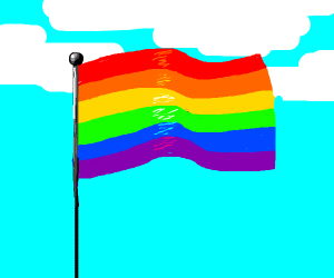 The Gay Pride Flag