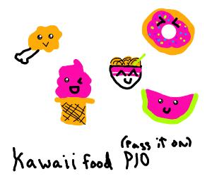 Kawaii Food P.I.O.