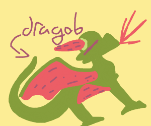 A Watermelon Dragob
