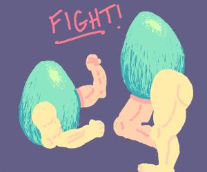 Eggman VS Manegg