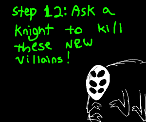 step 11: make an army of other villains