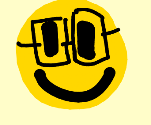 emoji with glasses