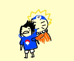 Naruto has eaten Sasuke