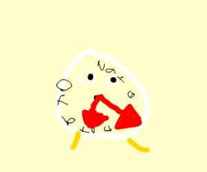 DIE POTATO DIE! im a clock tho