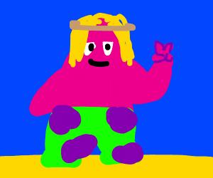Patrick is a hippie