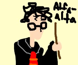 alfalfa harry potter