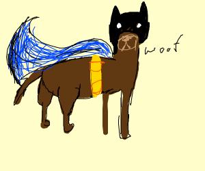Nanananananana Bat-Dog!