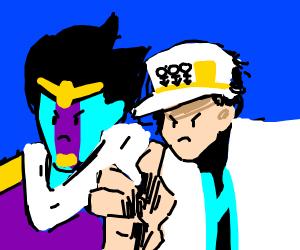 Jotaro stops time