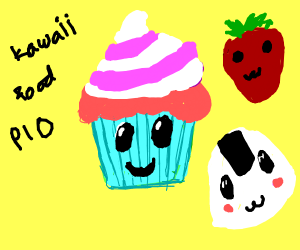 Kawaii Food Pio!
