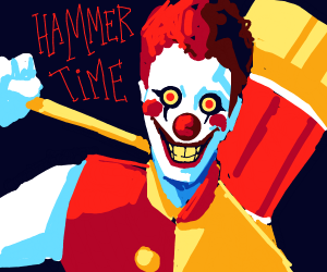 Clown that stole Amy Rose's hammer.