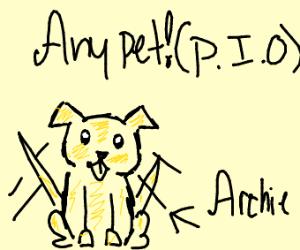 Any pet (pass it on!)