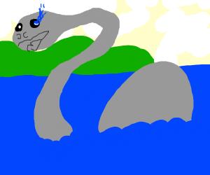 Loch Ness Monster but it's sans