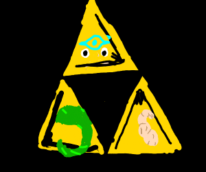 The Triangle From Legend Of Zelda
