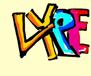"""The word """"LYRE"""""""