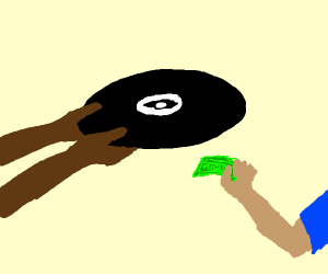 Buying a record