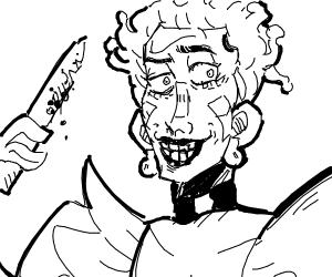 The Joker as a JoJo character